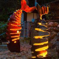 beleuchtete Fische